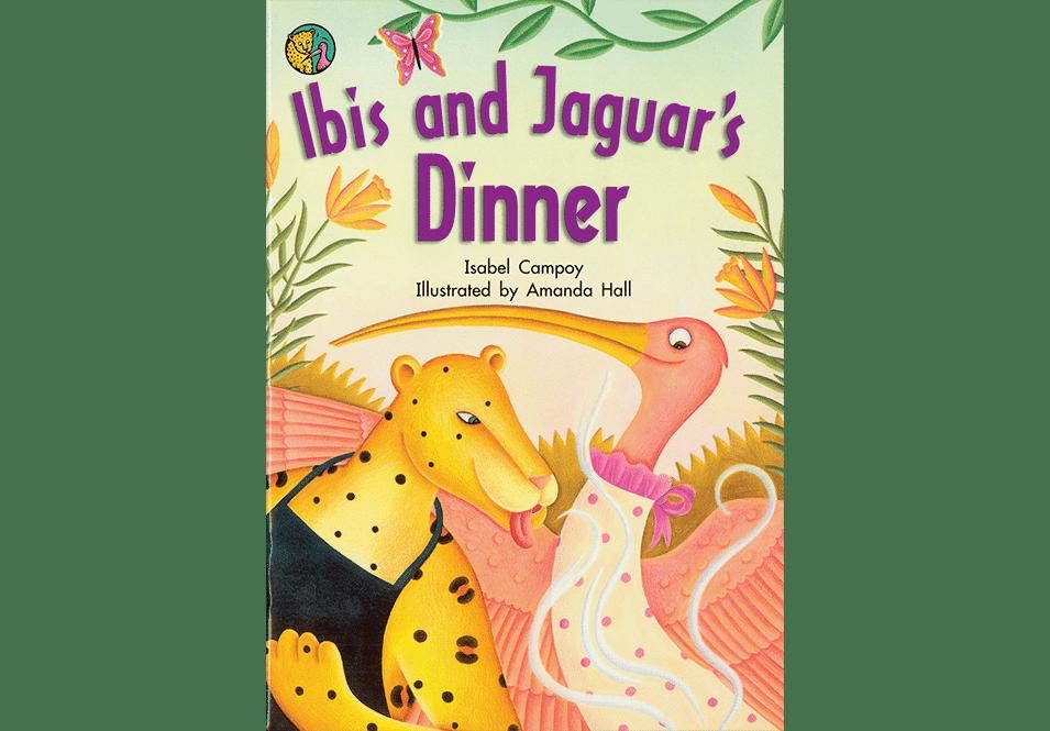 Amanda Hall Books 'Ibis and Jaguar's Dinner book cover'