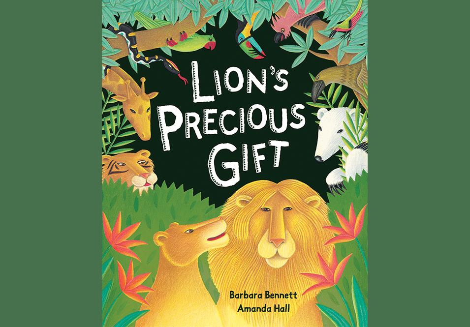 Lion's Precious Gift Amanda Hall Books