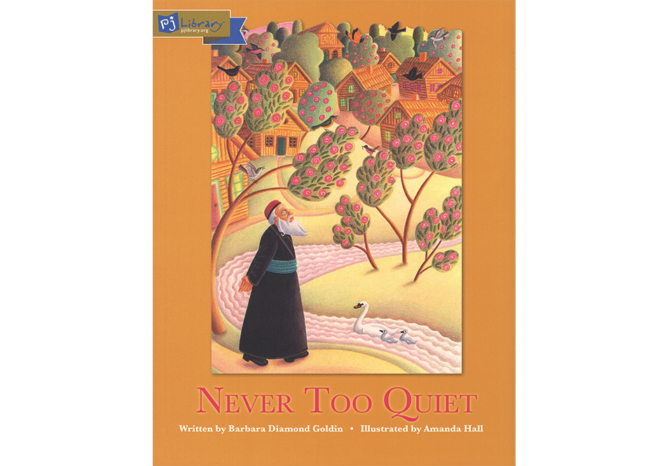 Amanda Hall Books 'Never Too Quiet book cover'