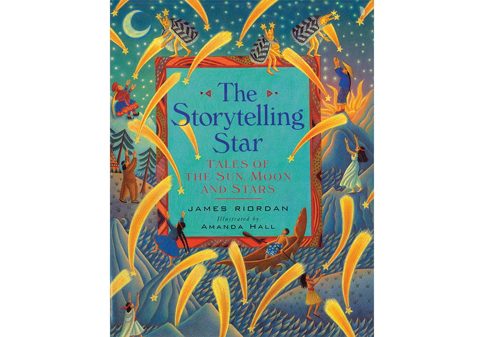 Amanda Hall Books 'The Storytelling Star book cover'