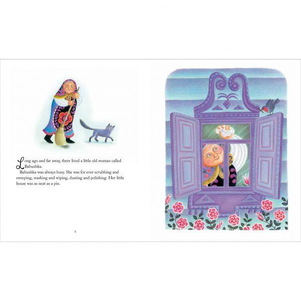 Illustration 'Babushka's house was neat as a pin'