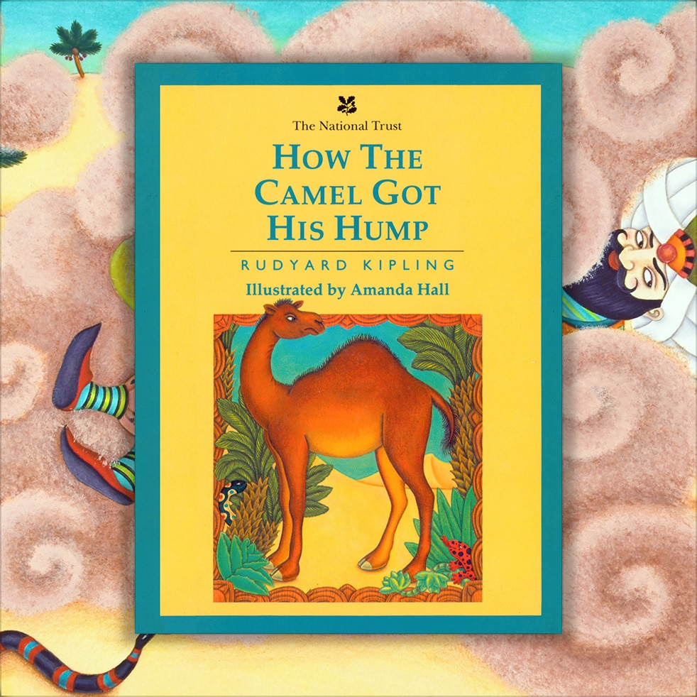 Childrens Picture Book Rights Available. How the Camel got his Hump cover.