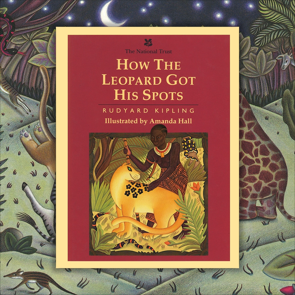 Children's Picture Book Rights Available. How the Leopard got his Spots cover.