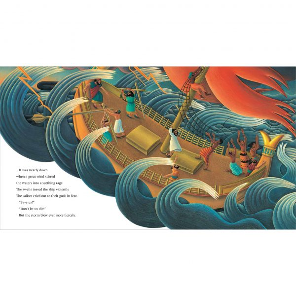 The Hard to Swallow Tale of Jonah and the Whale. 'The swells tossed the ship violently'