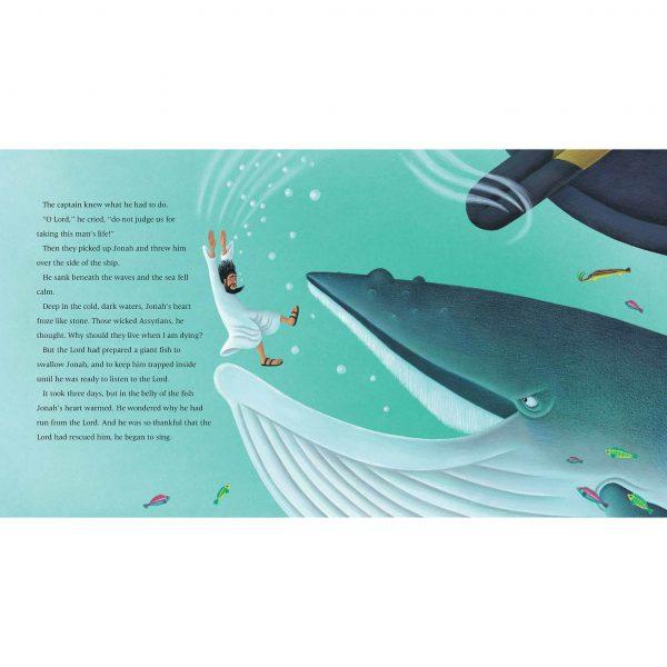 Illustration 'He sank beneath the waves'