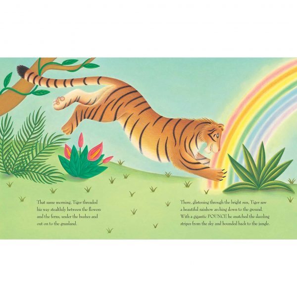 Lions Precious Gift. 'Tiger saw a beautiful rainbow'