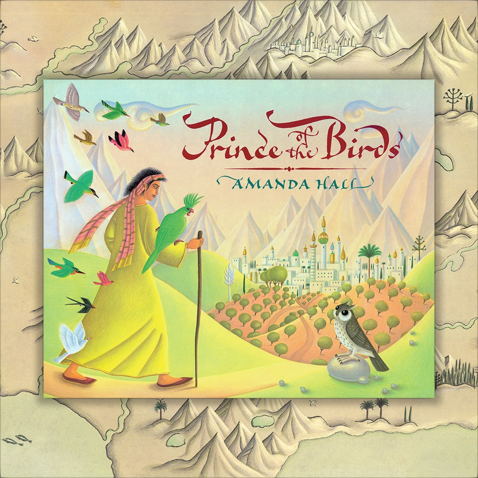 Childrens Picture Book Rights Available. Prince of the Birds cover.