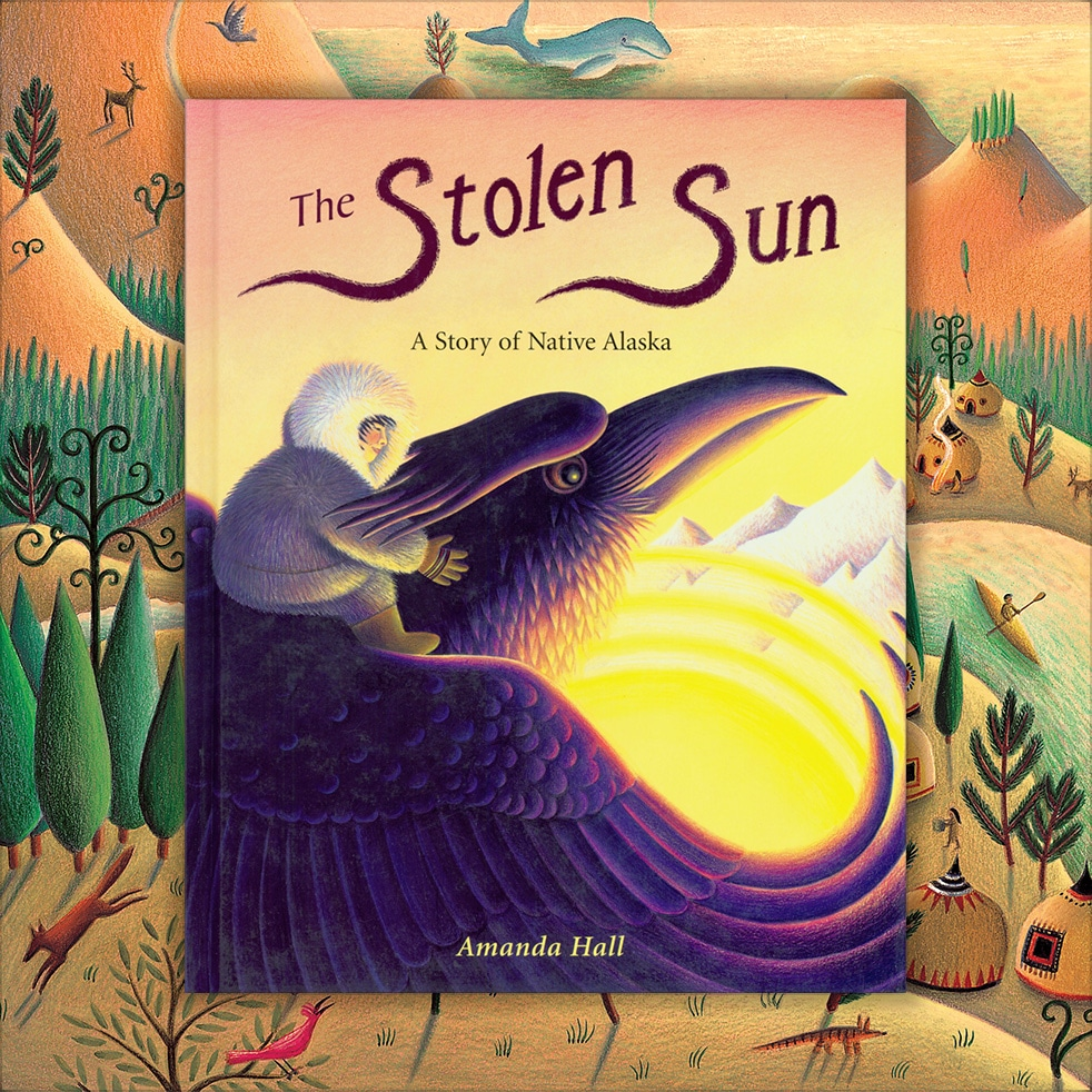 Childrens Picture Book Rights Available. The Stolen Sun cover.