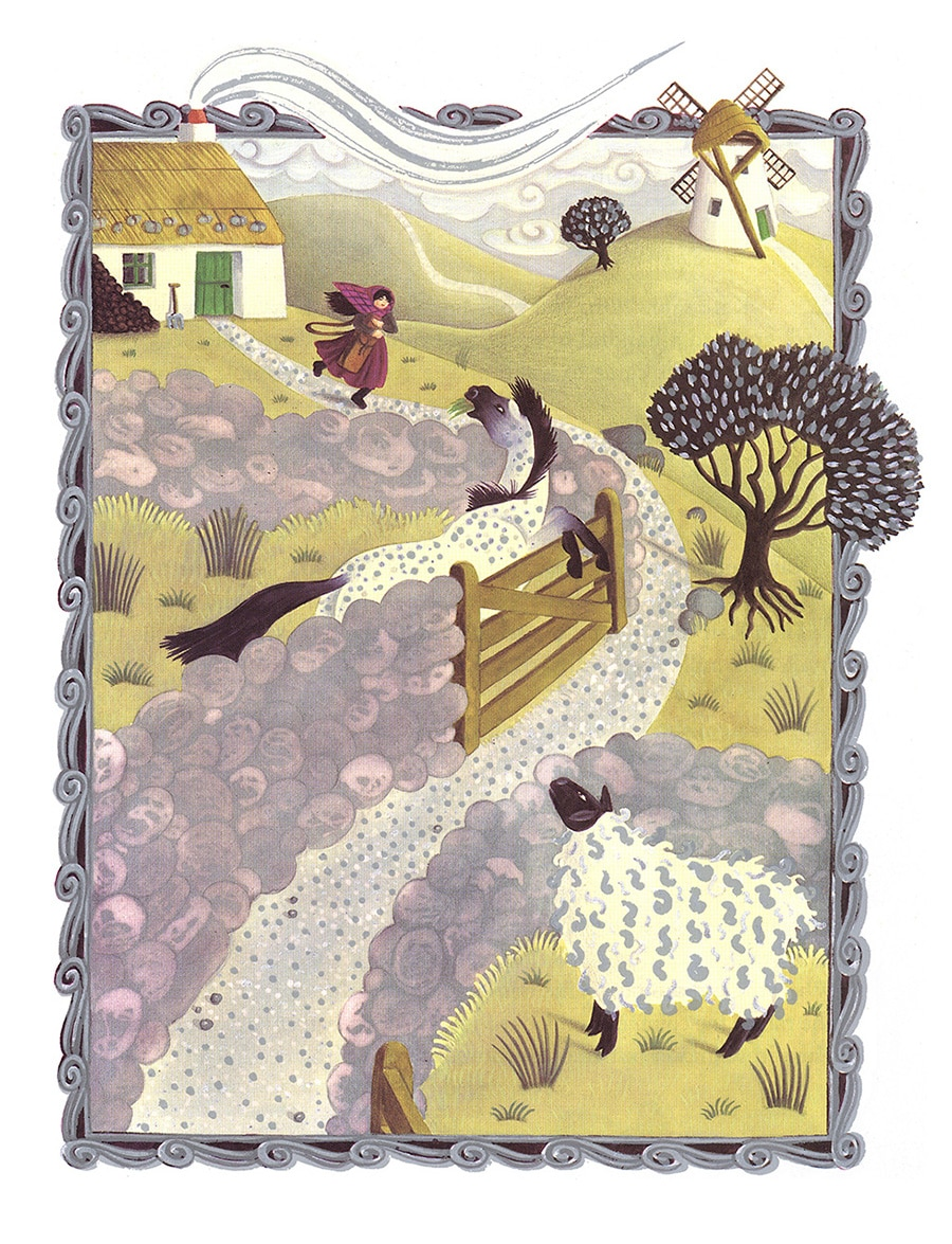 All my Shining Silver Gallery. Illustration 1 'Kate started walking down the road'