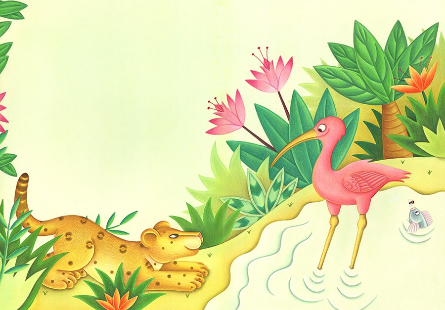"""Ibis and Jaguars Dinner Gallery. Illustration 3 """"Who are you?"""" Asked Jaguar'"""