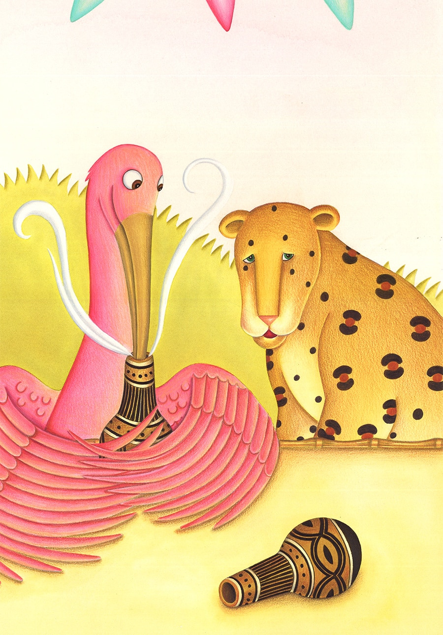 """Illustration 9 """"Now you know how it feels to be tricked"""" said Ibis'"""