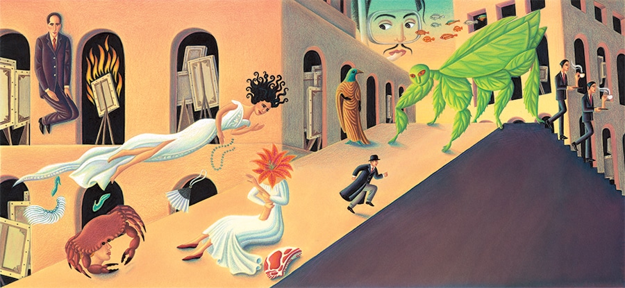Out of This World: The Surreal Art of Leonora Carrington Gallery 9 (Pixel dimensions available w7224 x h3387 includes bleed)