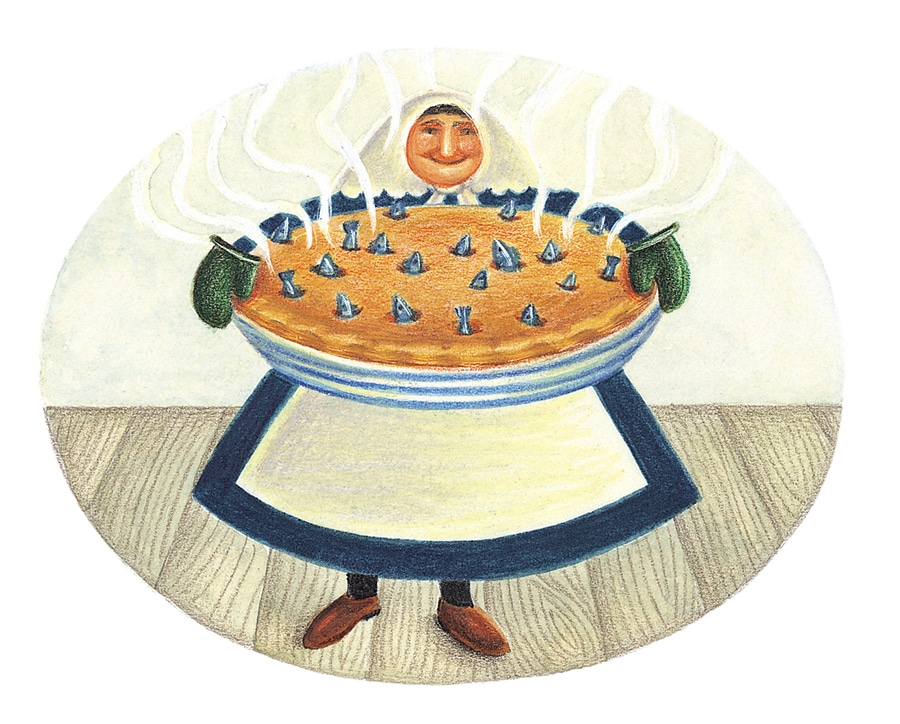 Illustration 14 'The Stargazy Pie' (Pixel dimensions available w1178 x h933)
