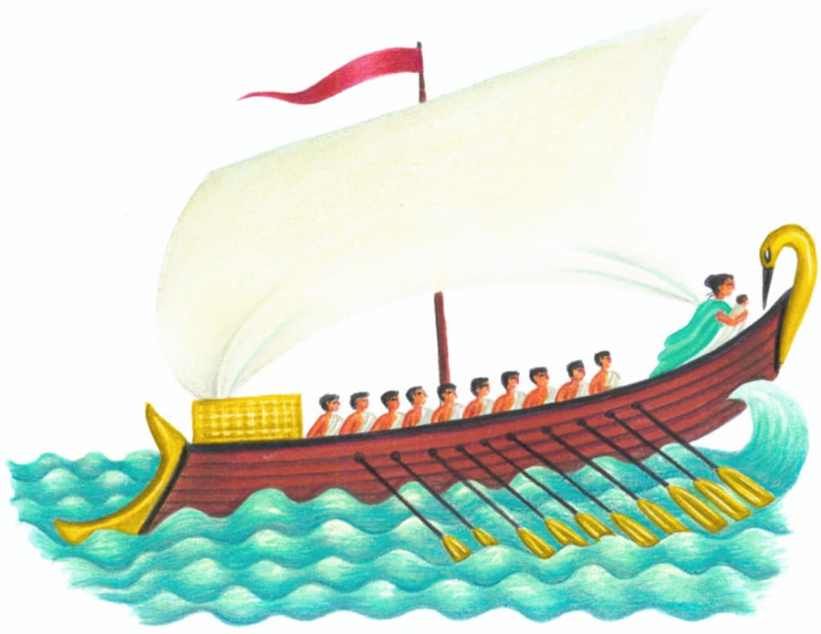 Images for Kids 47 GREEK SHIP (Pixel dimensions available w1125x h871)