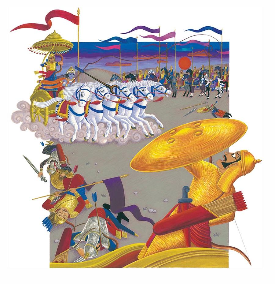 Illustration 8 'The Battle of Eighteen Days'