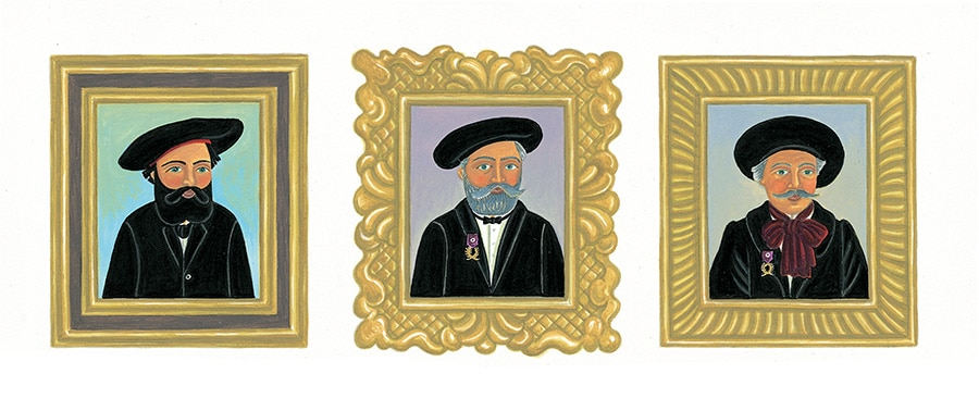 Illustration 16 'Henri Rousseau changes over the years' (Pixel dimensions available w2969 x h1064)