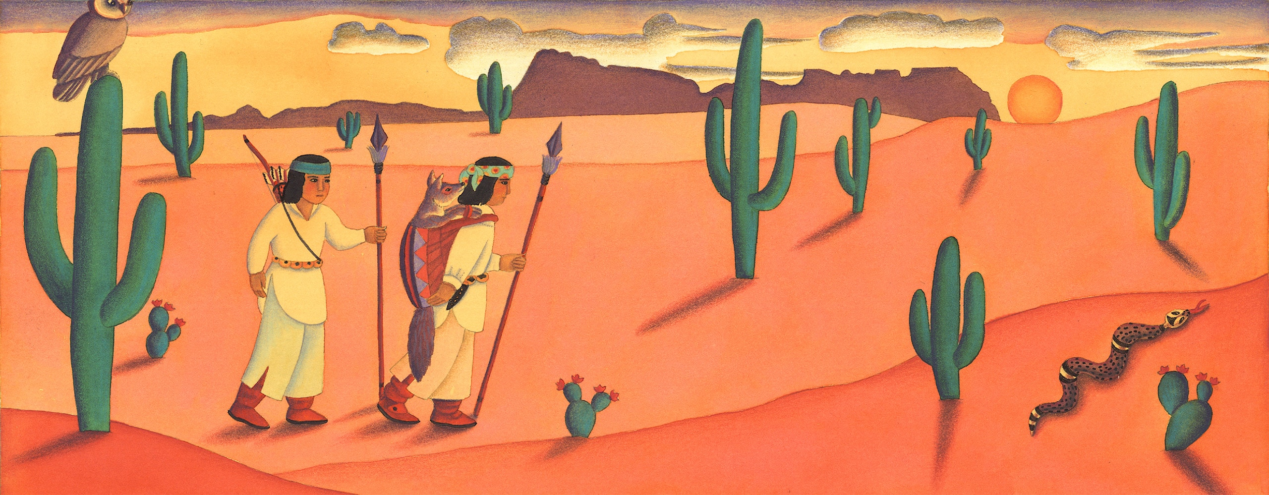 Coyote Girl Gallery. 'Banner image'