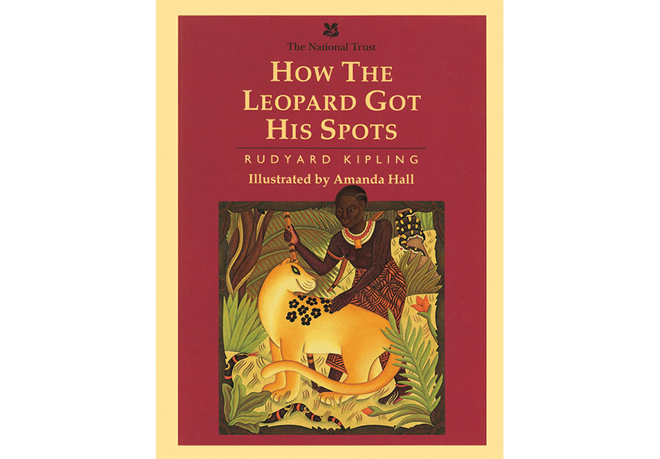'How the Leopard Got His Spots book cover'