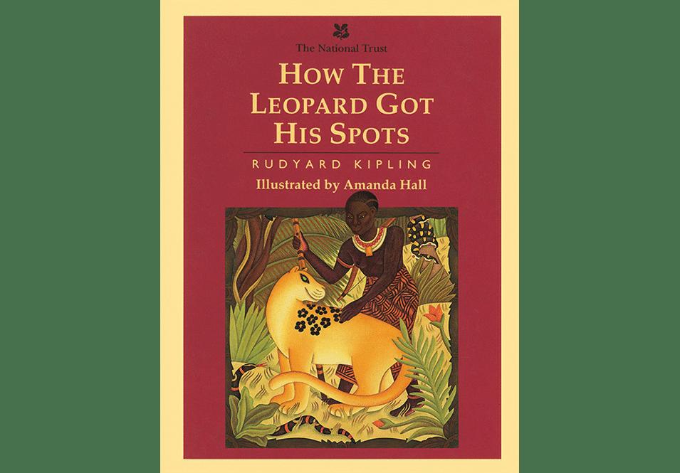 how the leopard got his spots amanda hall cover