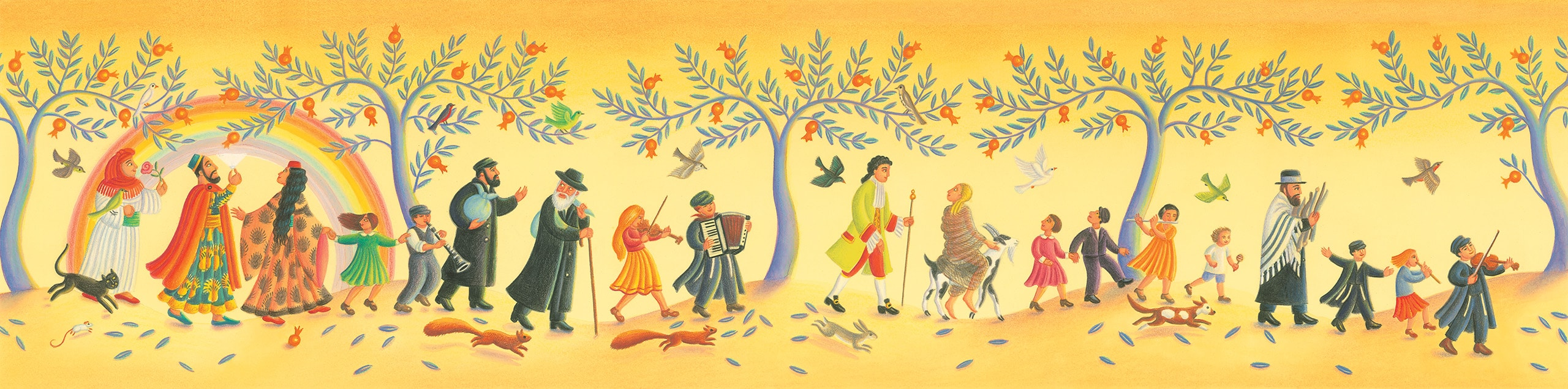 The Barefoot Book of Jewish Tales Gallery 'Banner image'