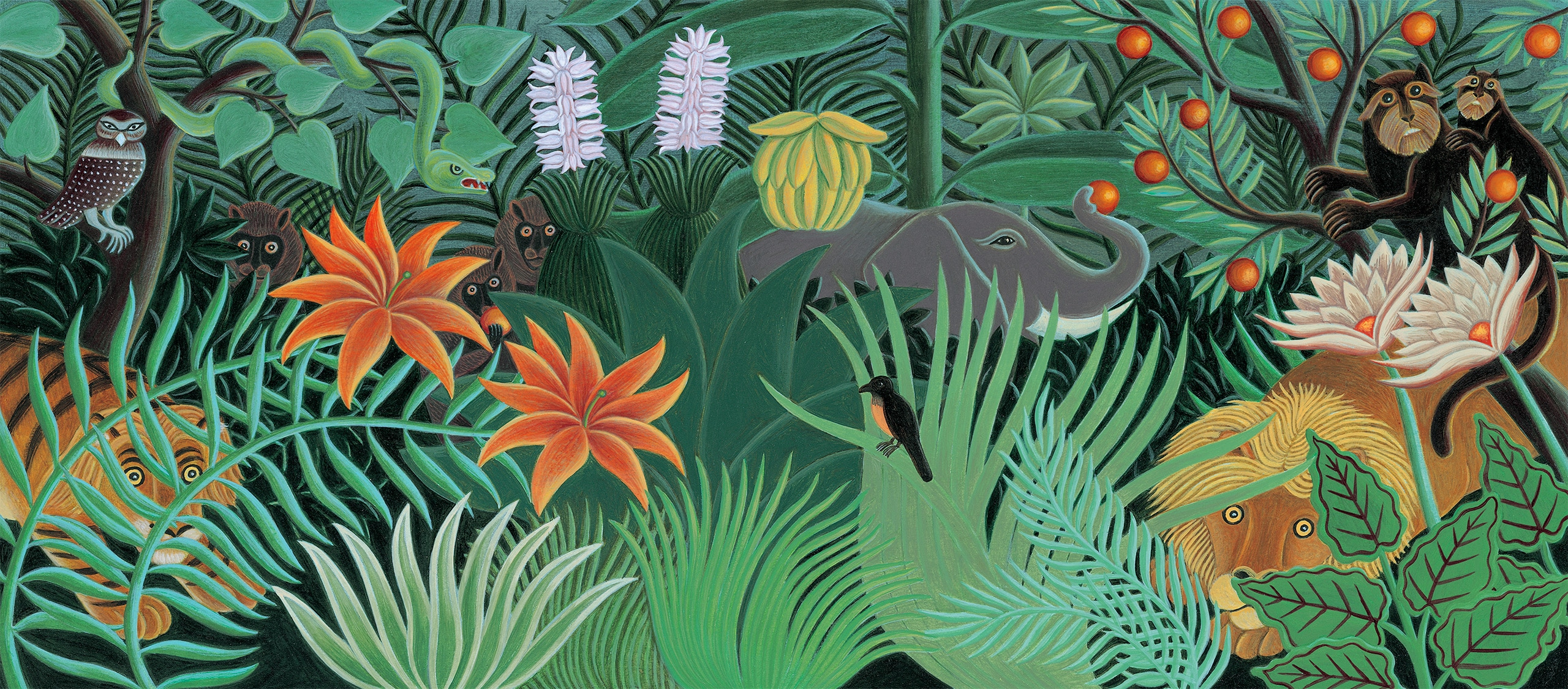 The Fantastic Jungles of Henri Rousseau Gallery. 'Banner Image'