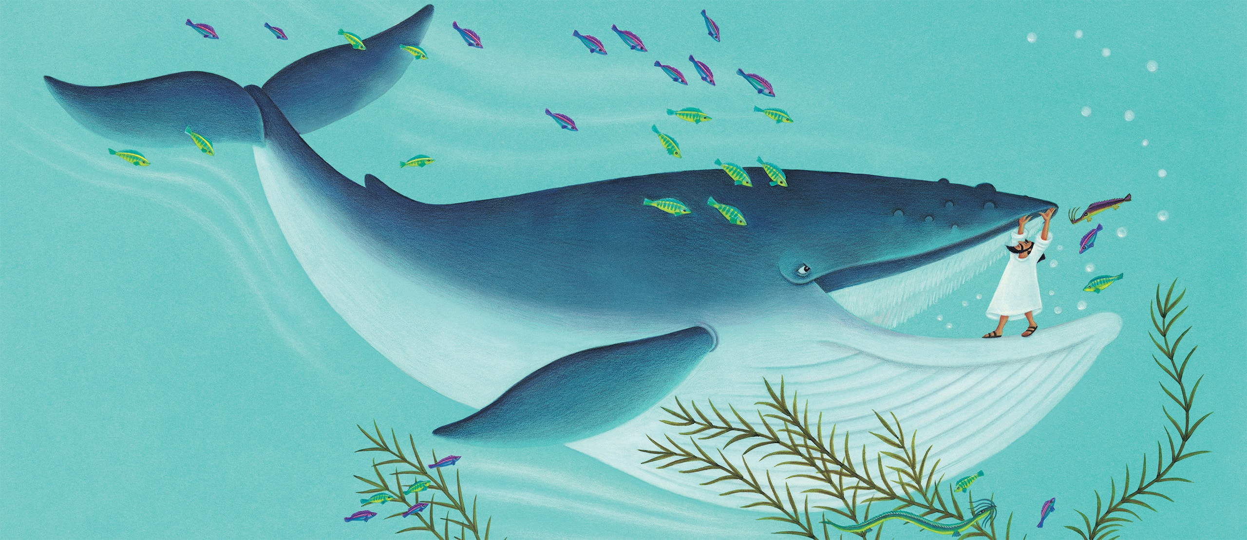 The Hard to Swallow Tale of Jonah and the Whale Gallery. 'Banner Image'