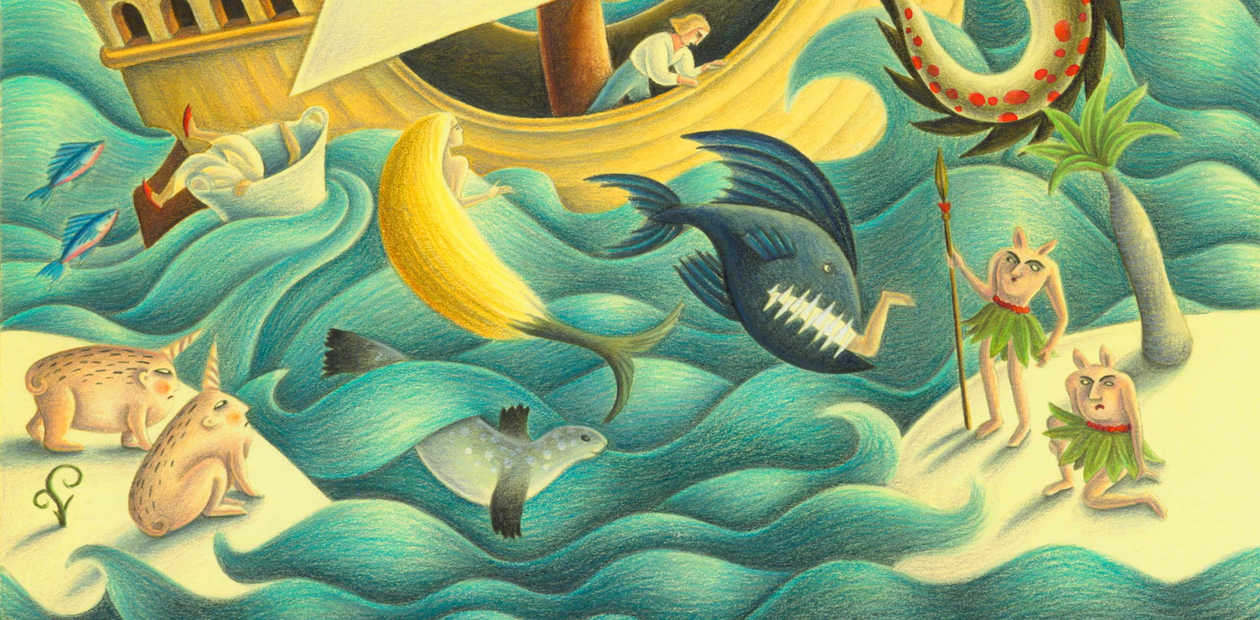 The Barefoot Stories from the Sea Gallery. 'Banner Image'