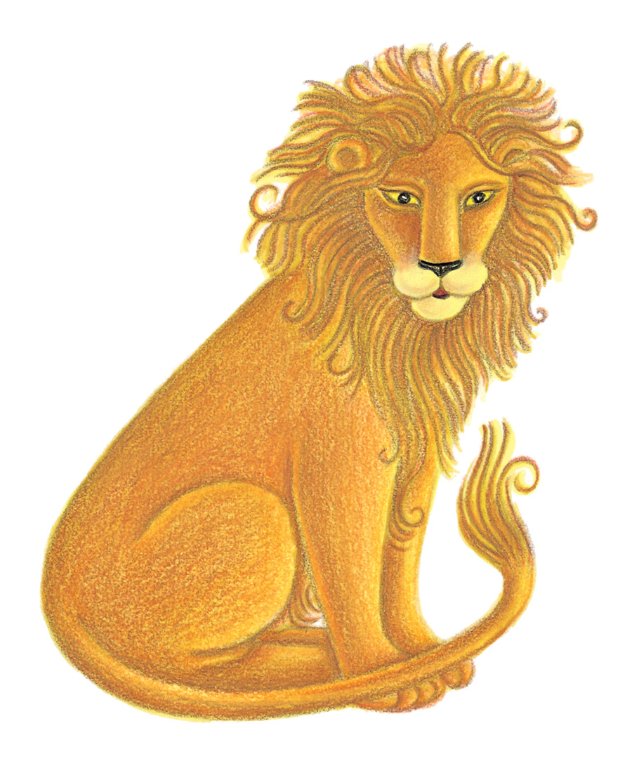 Illustration 23 'The Lion' (Pixel dimensions available w805 x h982)