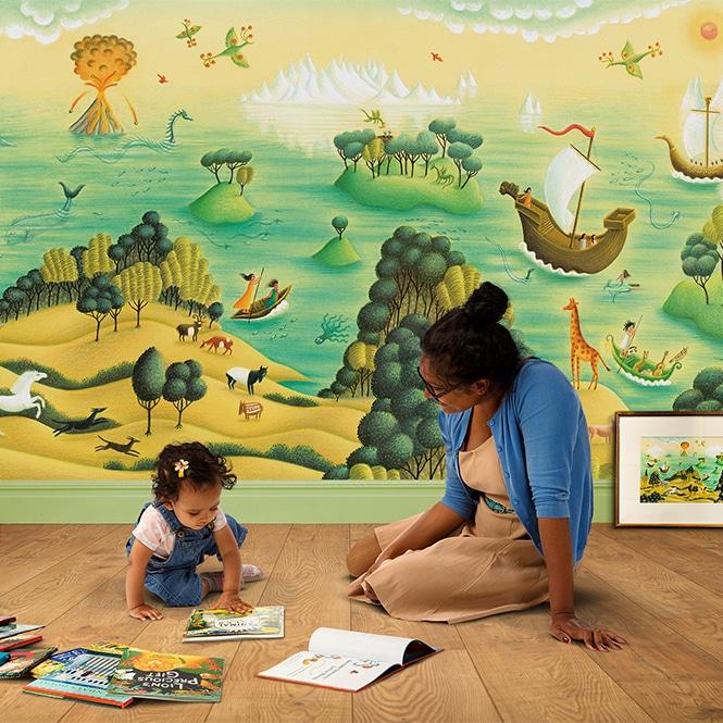Shop Illustration Art for Kids