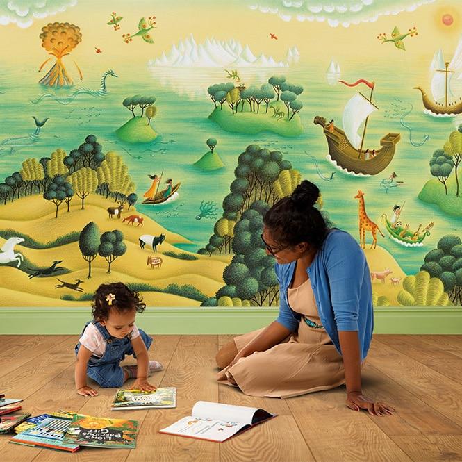 Wall Mural Children's Bedrooms 'Leonora's Dreamland'