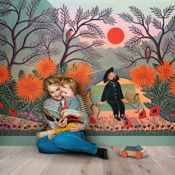 Wall Mural Playroom