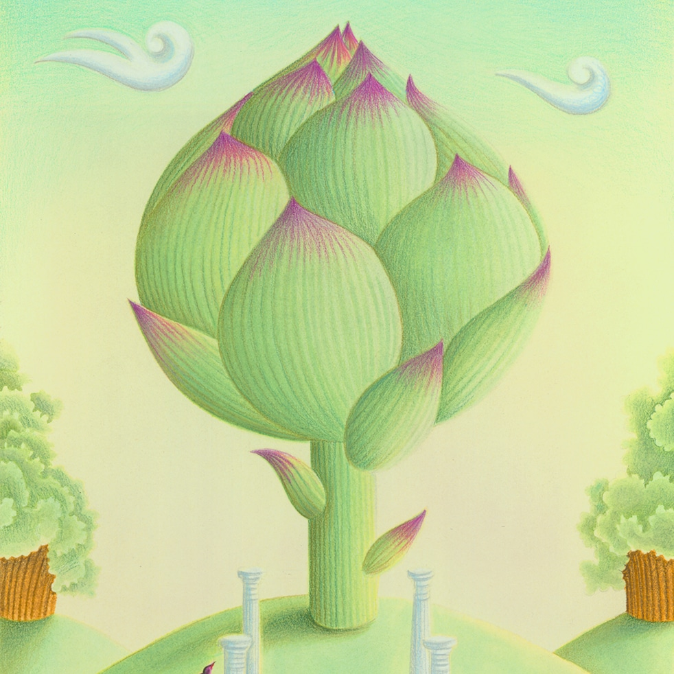 Illustration Stock Art - Hand Drawn Food Illustrations