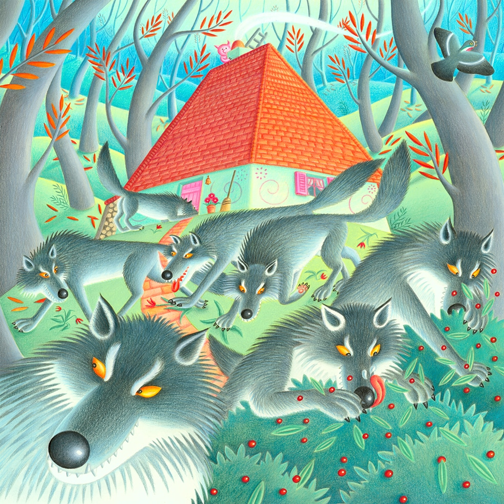 Illustration Stock Art - Children's Picture Book Illustrations